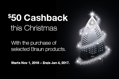 Braun Christmas Promotion