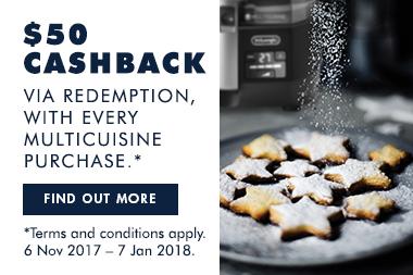 De'Longhi Multifry Christmas Promotion 2017