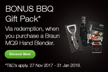 Braun Xmas BBQ Gift Pack