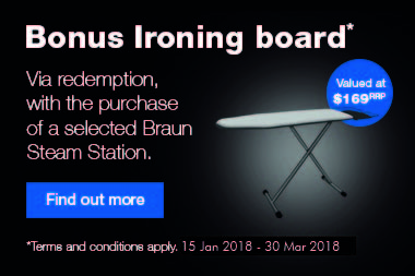 Braun Back to School Steam Station Promotion