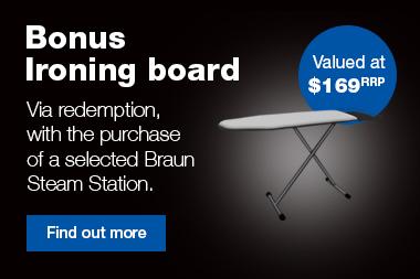 Braun Mid Season Bonus Ironing Board