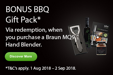 Braun Father's Day BBQ Pack Promotion
