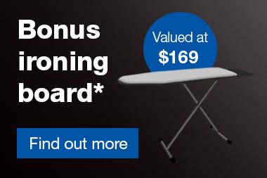 Braun Linen Care Spring Bonus Ironing Board