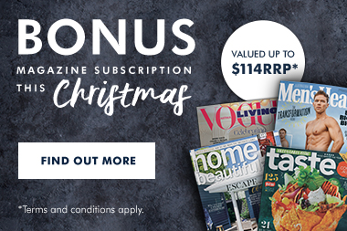 De'Longhi Bonus Magazine Subscription Christmas 2019